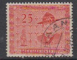 Liechtenstein 1953 Scouting / Baden Powell 25Rp 1v Used (42184I) - Liechtenstein