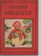 CONTES DE PERRAULT  ILLUSTRATIONS DE BEATRICE MALLET ET DE LE RALLIC    EDITIONS CHAGOR   VOIR LES SCANS - Livres, BD, Revues