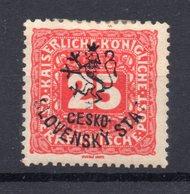 CZECHOSLOVAKIA  1918 , MH , BUDWEIS - Cecoslovacchia