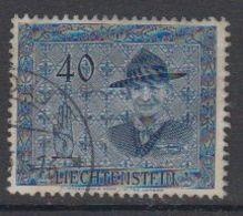 Liechtenstein 1953 Scouting / Baden Powell 40Rp 1v Used (42184J) - Liechtenstein