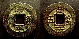 KOREA - VALUE 5 - Mint Mark KYUN 1883NICE - BRASS COIN - COREE - Corée Du Nord