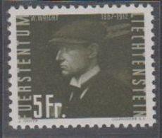 Liechtenstein 1948 Flugpost / Flugpioniere 5Fr Wilbur Wright ** Mnh(42184L) - Liechtenstein