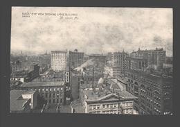 St. Louis - Bird's Eye View Showing Large Buildings - St Louis – Missouri