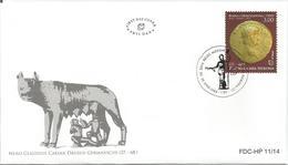 BHHB 2014-395 NERON'S GOLD COIN, BOSNA AND HERZEGOVINA HERCEGBOSNA(CROAT), FDC - Münzen