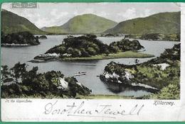 ! - Irlande - Kerry - Killarney - Envoi Vers Clavier (Belgique) Avec Suivi Vers Paris - Timbre Et Cachet Du 02-10-1903 - Kerry