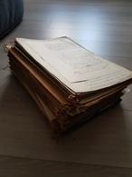 Lot Important D'actes Notariés Notaire à Trier Par Amateur - Documents Historiques
