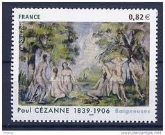 """FR YT 3894 """" Les Baigneuses P. Cézanne """" 2006 Neuf** - Neufs"""