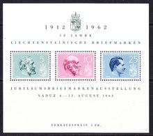 Liechtenstein 1962 Stamp Exhibition M/s ** Mnh  (42185) - Blokken
