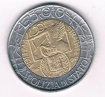 500 LIRE 1997 ITALIE /2281/ - 1946-… : République