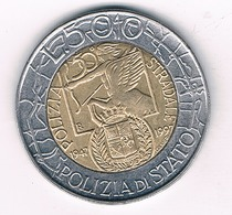 500 LIRE 1997 ITALIE /2281/ - 1946-…: Republik