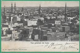 ! - Egypte - Le Caire - Vue Générale - Envoi Vers Paris - Timbre Et Cachet Alexandrie Du ..-..-1905 - Le Caire