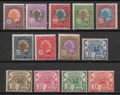 Indochine - 1927 - Taxe TT N°Yv. 44 à 56 - Série Complète - Neuf Luxe ** / MNH / Postfrisch - Indochine (1889-1945)