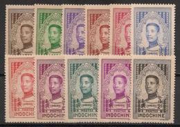 Indochine - 1936 - N°Yv. 172 à 192 - Monivong - Série Complète - Neuf Luxe ** / MNH / Postfrisch - Indochina (1889-1945)