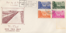 Enveloppe  FDC   1er  Jour   VIETNAM    Développement   Rural   1960 - Vietnam