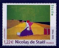 "FR YT 3762 "" Tableau, Nicolas De Staël ""  2005 Neuf** - Ongebruikt"