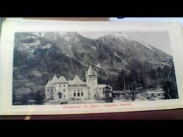 GRESSONEY ST JEAN  CASTELLO SAVOIA  SAVOJA VALLE D'AOSTA N1900 HB8581 - Italia