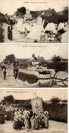 Camiers : Cérémonie Du 22-9-1912  3 Cpa - France