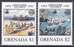 Grenada 1992 Organisationen OECS Entdeckungen Discovery Amerika Kolumbus Columbus Schiffe Ships Indianer, Mi. 2450-1 ** - Grenada (1974-...)