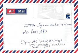 Senegal 2008 Dakar Yoff Post Office Meter EMA Cover - Senegal (1960-...)