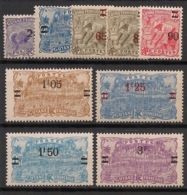 Guyane - 1924-27 - N°Yv. 97 à 105 - Série Complète - Neuf Luxe ** / MNH / Postfrisch - Guyane Française (1886-1949)