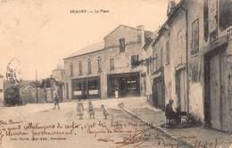 CPA ERAGNY - La Place - Eragny