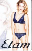 FRANCE - Natalia Vodianova, Etam Gift Card, Unused - Cartes Cadeaux