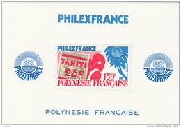 POLYNESIE 1982 Bloc Feuillet N° 6 ** Neuf Ier Choix. MNH. SUP. Cote: 21 € (Philexfrance 82)   / 672 - Unclassified