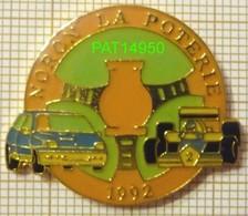 STAGE DE PILOTAGE à NORON LA POTERIE 1992 VOLANT + Véhicules RENAULT CLIO Et FORMULE - Badges
