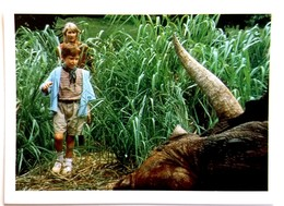 Dinosaur Sticker 1993 Jurassic Park - Vignettes Autocollantes
