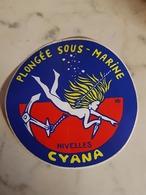 Nivelles Plongée Sous-marine CYANA - Stickers
