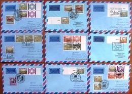 AUSTRIA - ÖSTERREICH - AUTRICHE 12 Wonderfull FDC Covers ! Memory Cancellation ! - FDC