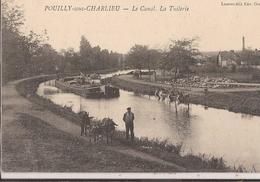 CPA REGIONS Loire  42000 PENICHE SUR LE CANAL DE ROANNE DIGOIN POUILLY/S CHARLIEU  BON ETAT - Sonstige Gemeinden