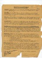 80/ PRISONNIERS GUERRE ALLEMANDS. UTILISATION PAR AGRICULTEURS - Documents