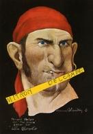 """LES CORSAIRES  D'ETIENNE BLANDIN -""""Fernand VACHER"""" Dit """"Mal Cousu"""" Gabier  Sur """" La Cornelie"""" CPM - Autres Illustrateurs"""