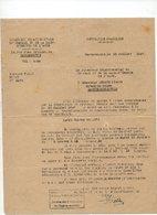 81/ PRISONNIERS GUERRE ALLEMANDS.TRANSFORMATION. LIBERATION. 1947 - Documents