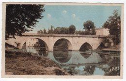 Lavardac (Lot-et-Garonne) Le Pont + Avenue De La Gare      LES 2 CARTES - Lavardac