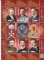 Poland 2018 100th Ann. Of Poland's Regaining Independence SS MNH - 1944-.... République