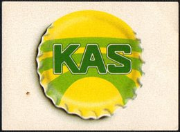 SPAIN - REFRESHING LEMON DRINK - MARCA - STICKER - Altre Collezioni