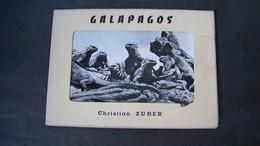 Etui 10 Cartes Postales GALAPAGOS Christian ZUBER - Equateur