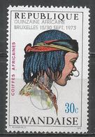 Rwanda 1973. Scott #551 (MNH) African Headredresse * - 1970-79: Neufs