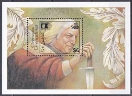Grenada Grenadinen 1992 Entdeckungen Discovery Kolumbus Columbus WORLD COLUMBIAN STAMP EXPO, Bl. 242 ** - Grenada (1974-...)