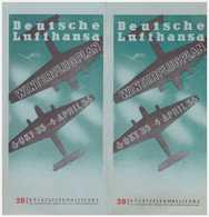 Winter Flugplan Deutsche Lufthansa 1935-1936 - Cartes