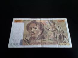 France -100 Francs 1993 - Delacroix - 1992-2000 Dernière Gamme