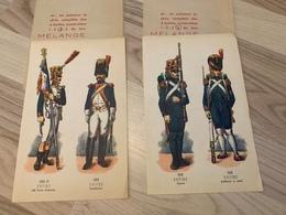 Fiches Soldats Napéleoniens - Biscuits Belges DESOBRY - Publicité