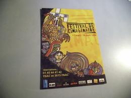 BELLE ILLUSTRATION ...FESTIVAL DE L'IMAGINAIRE 1999 - Spectacle