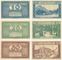 Neuhaus Elbe Bei Lüneburg, 3 Scheine Notgeld 1921, Burg, Eiche, Dr. Carl Peters - [11] Local Banknote Issues