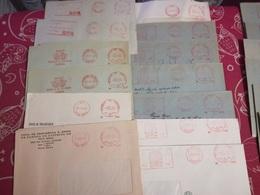LOT 50 METER SLOGAN. PORTUGAL - Briefmarken