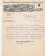 Allemagne Lettre Illustrée 19/7/1913 Vereinigte Hanfschlauch Und Gummiwaaren Fabriken GOTHA - Allemagne