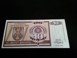 Croatia Knin 10 Dinara 1992 - Croatia