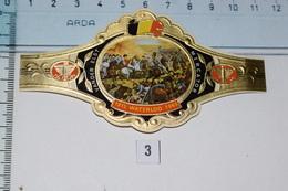 "Vander Elst Mercator 1815 Waterloo 1965 N°3 ""Le Général Wellington Dans La Bataille"" - Anelli Da Sigari"